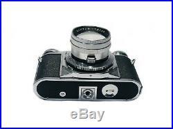 Rare Complete Vintage Voigtlander Prominent I Fast Camera + Extra Lenses etc
