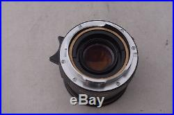 Rare Leica M4 KE-7A Military Camera #1294792 with 50mm f2.0 Elcan Lens and Case