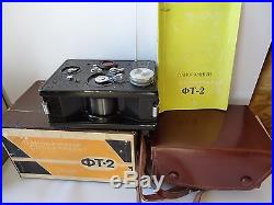 Rare Russian FT-2 Panoramic KMZ Krasnigorsk PANORAMA 35mm camera. Video review