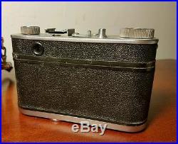 Rare Vintage Futura-S German 50Mm Rangefinder Camera With Original Case
