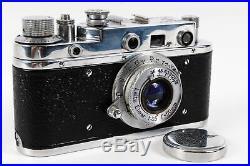 Rare Vintage Luftwaffe Russian Leica Copy Rangefinder Camera (WWII)