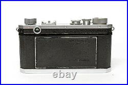 Rare and very clean Nikon S Rangefinder 35mm film Camera matching S/N 6117469