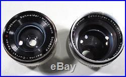 Retina IIC (großes C)mitCurtar 4,0 35mm, Longar 4,0 80mm im orig Kodak-Koffer