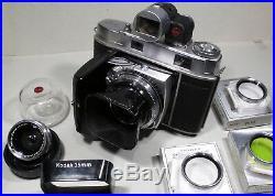 Retina IIc mit Xenon 2,8/50mm, Curtar 5,6/35mm, Mehrfachsucher