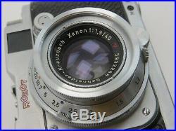 Robot Royal 24S G147062 Xenon f1,9 40mm 3932288 Schneider Kreuznach sv042
