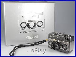Rollei 35 Classic Titan mit Rollei Sonnar 2,8 40 mm HFT und MCM Tasche 82123