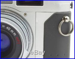 Rollei 35 RF Rangefinder Camera 35 mm with Sonnar HFT 2.8/40 mm
