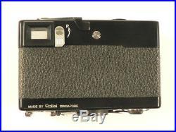 Rollei 35 S mit Sonnar 2,8/40 mm und Tasche in Top-Zustand