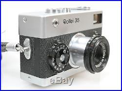 Rollei 35 Tessar 3,5/40 MADE IN GERMANY sehr schöner optischer Zustand beautiful