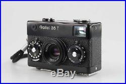 Rollei 35 mit Rollei T Tessar 3,5 40 mm schwarz black 83056