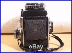 Rollei Rolleiflex SL66 120 6x6 SLR camera with 80mm F2.8 Planar + 120 back + W. L