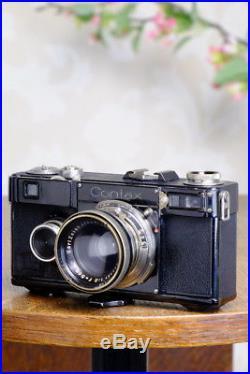 SUPERB! 1936 Zeiss Ikon Contax I, 35mm rangefinder, CLAd, FRESHLY SERVICED