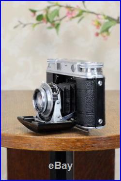 SUPERB! 1951 Voigtlander Vito III Rangefinder 2.0 Ultron lens, FRESHLY SERVICED
