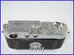 Schöne Leica M3 von 1955 735662 aus den ersten Serien mit original Ledertasche