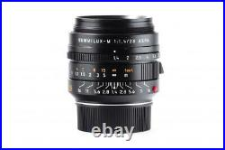 Summilux-M 11668 1,4/28mm ASPH. Black 6-bit // 32549,1