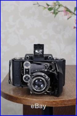 Superb! 1936 6x9 Super Ikonta with Tessar Lens, CLA'd, FRESHLY SERVICED