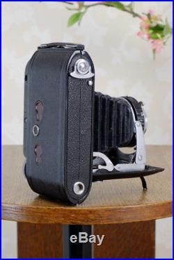 Superb! 1947 Voigtlander 6x9 Bessa Rangefinder with Heliar lens. Freshly Serviced
