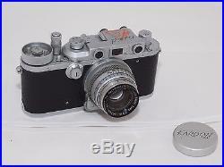 US Army Signal Corps Military Kardon 35mm rangefinder camera, Ektar 47mm f2 lens