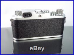 Ultra Rare Nicca 3-F with Nikkor-H f2 5cm Lens 35mm Rangefinder Camera & Orig Box