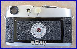 VGC Vintage LEICA M3 35mm Rangefinder Camera Body
