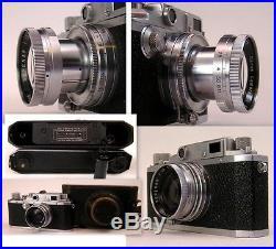VINTAGE CANON RANGEFINDER llC 2C Rare Camera in Scrace Condition Leica copy