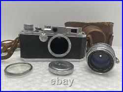 VINTAGE CANON RANGFINDER S-II SN 100317 CAMERA with 50MM f1.8 LENS