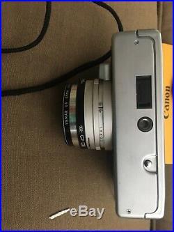 VINTAGE Canon Canonet QL17 GIII QL Rangefinder Film Camera 40mm 11.7 Lens