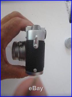 VINTAGE Leica M3 GMBH DBP 35 mm Rangefinder Camera Summicron 5cm 1.2Nr Germany