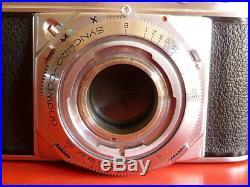 VINTAGE VOIGTLANDER PROMINENT CAMERA NOKTON 50mm f1.5, SKOPARON 35MM f3.5 & CASE
