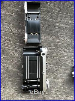 VINTAGE ZEISS IKON CONTAX RANGEFINDER CAMERA & LENS 11.5cm 5cm T