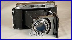 VOIGTLANDER Bessa II Camera with Color-Heliar Lens and Case. NO RESERVE