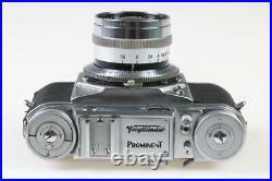 VOIGTLÄNDER Prominent mit Nokton 50mm f/1,5 SNr 54238
