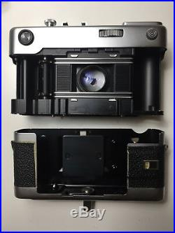 VOIGTLANDER VITESSA RANGEFINDER 35mm Film Camera With 50mm Lens