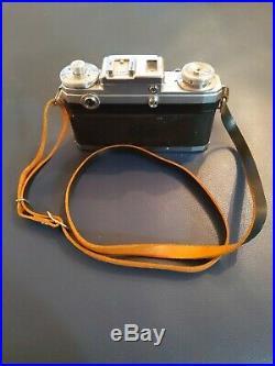 VTG CONTAX IIIA 35MM CAMERA ZEISS SONNAR 12 f 50mm LENS RANGEFINDER GERMANY