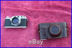 Vintage 1950s Leica IIIf Rangefinder Camera