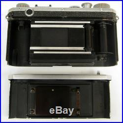 Vintage 1950s NIKON S Rangefinder Camera with Box & 50mm f/2 Nippon Kogaku Lens