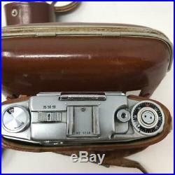Vintage Agfa Ambi Silette 35 mm vintage camera in case with original instruction