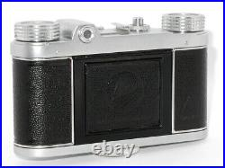 Vintage Altissa Altix V Meyer-Optik Görlitz Trioplan V Red 50mm f/2,9, case