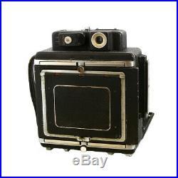 Vintage Busch Pressman Model D 4x5 Vue-Focus Top Rangefinder Camera UG