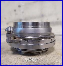 Vintage CANON 35mm f/3.5 SERENAR wide angle LENS for ltm l39 rangefinder camera