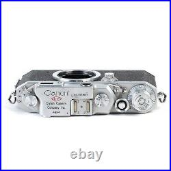 Vintage CANON EP IIF 35mm Film Camera L39 Leica Screw Mount Rangefinder Body