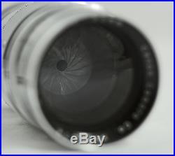 Vintage Canon 85mm F2 Serenar M39 Rangefinder Camera Lens Nikon Leica Canon