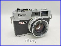 Vintage Canon Canonet QL17 G-III 35mm Rangefinder Camera with 40mm F1.7 Lens