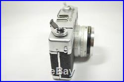 Vintage Canon Canonet QL17 GIII 35mm Rangefinder Camera 40mm f/1.7 Lens