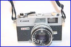 Vintage Canon Canonet Ql17 Giii Camera