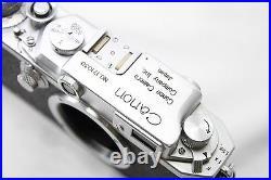 Vintage Canon IIS Rangefinder Film Camera Excellent #D015c