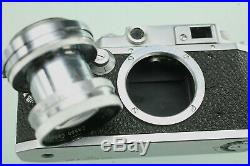Vintage Canon Rangefinder Model Iib Occupied Japan Leica Copy 50mm 1.9 Lens