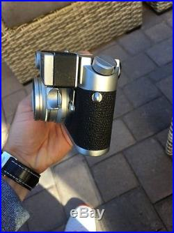 Vintage ESTATE Leica M4 Ernst Leitz Camera 12/35 Mm Lens Summicron