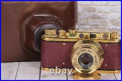Vintage Film camera Leica II D Berlin 1936, Lens Sonnar Carl Zeiss f2.8/52mm
