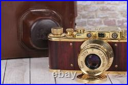Vintage Film camera Leica Kriegsmarine, Lens f2.8/52mm